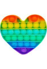 Pop It Corazón Rainbow