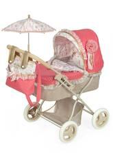Martina voiture de poupée pliable avec parasol DeCuevas 85033