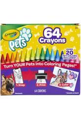 Crayola Pets 64 Crayons 52-1164