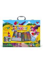 Maletín Del Artista Inspiration 155 Piezas Crayola 25-4450