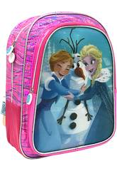 Mochila Frozen Visão Efeito 5D Toybags T323-104