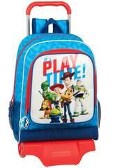 Zaino con carrello Toy Story It's Play Time Safta 612031313