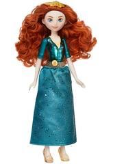 Muñeca Princesas Disney Mérida Brillo Real Hasbro F0903