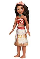 Muñeca Princesas Disney Vaiana Brillo Real Hasbro F0907