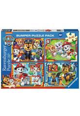 Puzzle Paw Patrol 4x42 Piezas Ravensburguer 5050