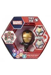 Wow! Pods Marvel Figura Iron Man Gold Eleven Force 20924