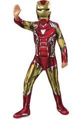 Disfraz Niño Iron Man Endgame Classic T-L Rubies 700649-L