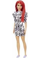Barbie Fashionista Pelirroja Mattel GRB56