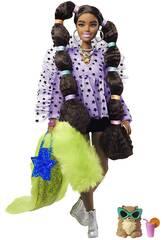 Barbie Extra Ponytails Bubbles Mattel GXF10