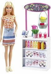 Barbie Puesto de Smoothies Mattel GRN75