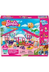 Mega Construx Barbie Malibú Haus Mattel GWR34