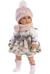 Muñeca Tina 40 cm. Llorens 54035