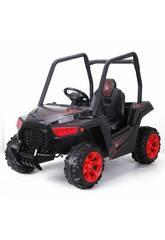 12V Buggie UTV Spider Radio Controlled Battery Vehicle Noir