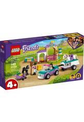 Lego Friends Trailer d'entraînement et de chevaux Lego 41441
