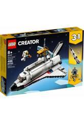 Lego Creator Space Shuttle Adventure 3 in 1 31117