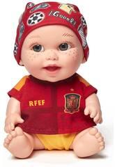 Muñeco Baby Pelón La Roja Juegaterapia 188