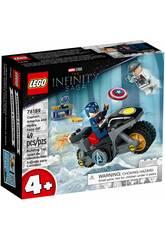 Lego Marvel Capitão América Contra Hydra 76189