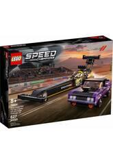 Lego Speed Champions Dragster Mopar Dodge//SRT Top Fuel y Dodge Challenger T/A de 1970 76904