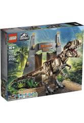 Lego Jurassic World Parque Jurásico Caos del T. Rex 75936