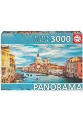 Puzzle 3.000 Gran Canal De Venecia Panorama Educa 19053