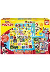 Mickey And Friends Set Especial 8 in 1 Educa 19100