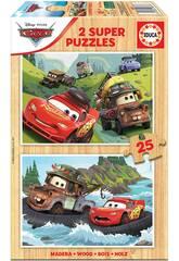 Puzzle delle fiabe 2x25 auto Educa 18877