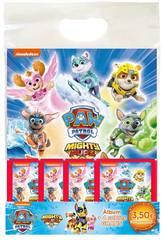 Patrulla Canina Mighty Pups Starter Pack Álbum con 4 Sobres Panini 9788427872363