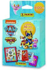 Patrouille Canine Mighty Pups Ecoblister 10 Enveloppes Panini 9788427872325