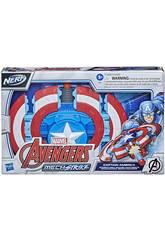 Avengers Nerf Mech Strike Shield Attack Captain America Hasbro F0265