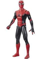 Spiderman Figura Titan 29 cm. Traje Rojo y Negro Hasbro F2052