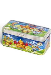 Boîte métallique Superthings Team Terrible avec 5 figurines exclusives Magic Box PSTSD48TIN30