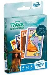 Fournier Shuffle 4 in 1 Raya & The Last Dragon Deck pour enfants 10025069