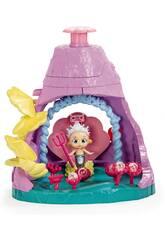 Bloopies Shellies Playset Queen Carolia's Volcano IMC Toys 93119