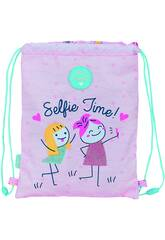 Sac plat Junior Glowlab Kids Best Friends Safta 612123855