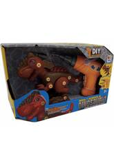 Set d'assemblage dinosaure brun