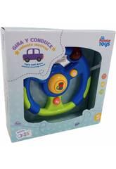 Feux et sons du volant pour enfants