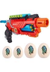 Dino Attack Blaster con 16 Dardos y 4 Huevos Diana Zuru 11013938