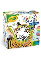 Súper Ceraboli Tigre Crayola 25-0399