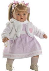 Bambola Baby Dulzona Llorona 60 Cm Berbesa