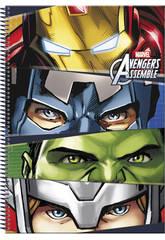 Cahier A4 Avengers TeamLe cahier des Avengerd