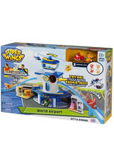 Superwings Transform-a-bots Aeropuerto