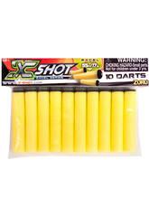 X-Short Pack 10 Fléchettes De Rechange