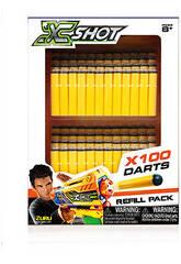 X-Shot Recambio 100 Dardos