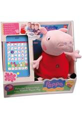 Peppa Pig pelúcia interativo com tablet