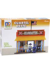 Playset Oeste Cuartel General