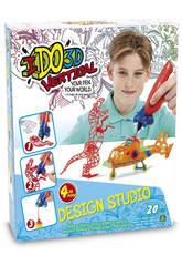 Penna Stampa Ido 3D Verticale Design Studio 4 Penne