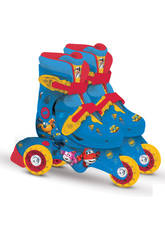 Super Wings Patines Roller 2 En 1 T27-30