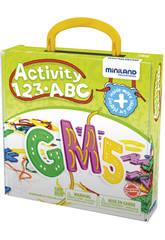 Activity 123 ABC Miniland 45307
