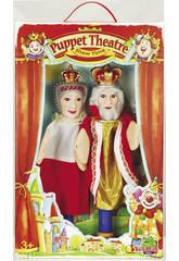 2 marionnettes avec bâton + 7 cartes des Marionnettes