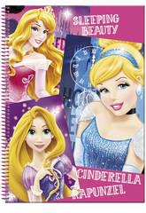Bloc A4 80 Feuilles Princesses Disney